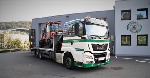 Transporte Webersdorfer Baumaschinentransport