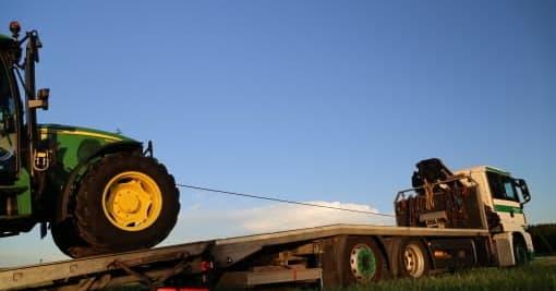 Transporte Webersdorfer Landmaschinentransport