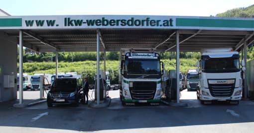 PKW- und LKW-Tankstelle Salzburg-Bergheim