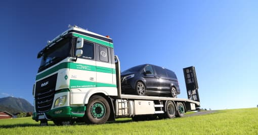 PKW-Transport Transporte Webersdorfer