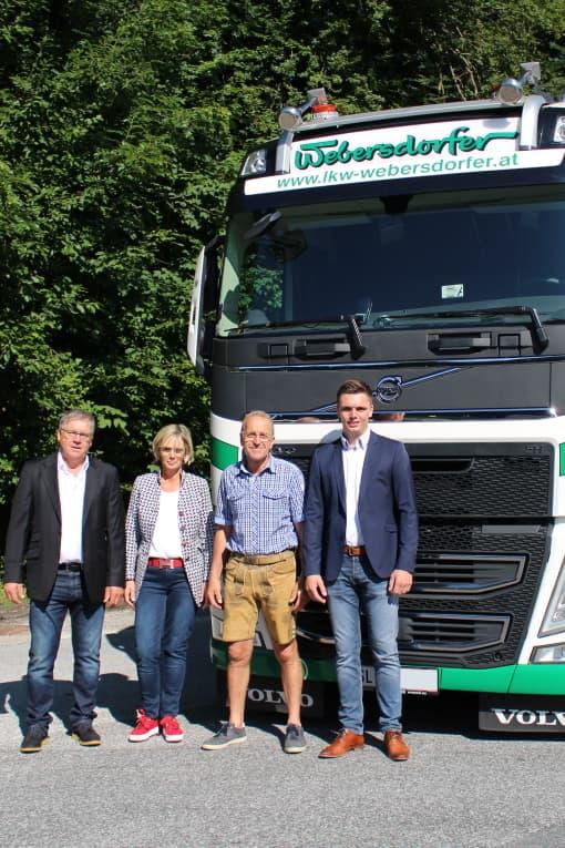 Pensionierung Transporte Webersdorfer 01.07.2020