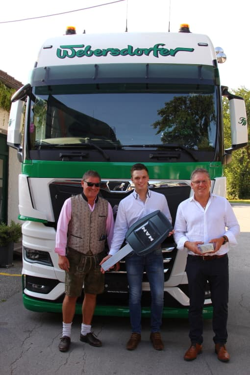 Übernahme MAN New Truck Generation