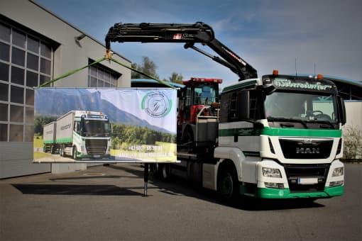 Transporte Webersdorfer Ladekran